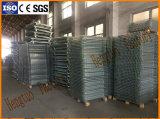 Cage se pliante de maille de fil d'acier pour la mémoire d'entrepôt