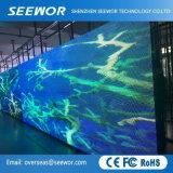 Gute QualitätsP16mm farbenreiche im Freien örtlich festgelegte LED-Bildschirmanzeige mit hoher Helligkeit