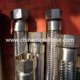 Doppelte Flechten-flexibler rostfreier schraubenartiger Metalschlauch Manguera flexibles Metalico