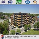 Costruzione prefabbricata modulare della struttura d'acciaio di basso costo