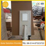 Outdoor solar integrada de alta potência de luz de Rua
