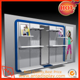 Wooden Wall Display Cabinet for Garment Blind