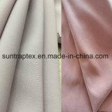 El 96% Poliéster 4% Spandex tejido micro falda de la piel de Durazno