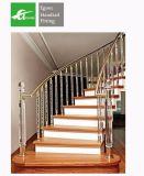 Los productos de China Pulido Inox 304 316 acero inoxidable Escalera balaustrada de la Barandilla