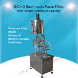 Machine de remplissage Semi-Auto coller avec trémie pour du beurre de cacahuètes (GZA-2)