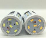 E27 LED beleuchtet super heller energiesparender Lampen-Mais der Glühlampe-24LEDs weiße warme weiße Beleuchtung der Scheinwerfer-Birnen-5730 SMD DC12V