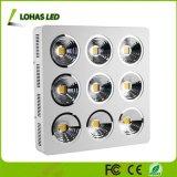 새로운 FCC 세륨 RoHS 승인 200W 400W 800W 1200W 1800W 플랜트 가벼운 LED는 크리 사람 옥수수 속 칩에 가볍게 증가한다