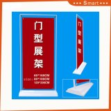 La promotion de la vente de la publicité extérieure couverte Door-Type stand stand Banner