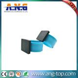 pulsera de la palmada del silicón de 13.56MHz RFID NFC para el acontecimiento