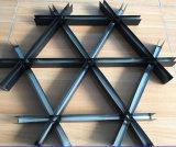 Azulejo abierto del techo suspendido de la red del polvo de China del aluminio artístico a prueba de humedad al por mayor de la capa