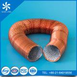 Condotto di alluminio resistente al fuoco/Aluduct della flessione con colore di rame per la HVAC