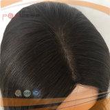 Парик белого цвета девственницы конструкции верхней части кожи Silk верхний (PPG-l-01051)