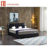 ملك [سز] [جنوين لثر] نجادة بسيطة أسلوب سرير لأنّ غرفة نوم مجموعة