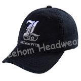 昇進のCamoは刺繍が付いている帽子を遊ばす