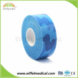 Motif de coton de qualité professionnelle de la kinésiologie bande imprimée