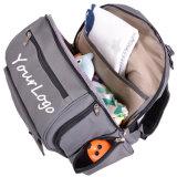 [مولتيفونكأيشن] رماديّ طفلة حفّاظة حقيبة مومياء حمولة ظهريّة مع يغيّر كتلة