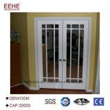 6.063 grãos de madeira Perfil de porta de alumínio para uso doméstico e sala de escritório