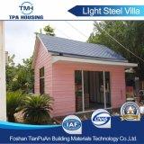 조립식 모듈 가벼운 강철 구조물 별장의 좋은 디자인