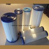 Filter van de Patroon van Unicel of de Vervanging Geplooide van het Zwembad Pleatco
