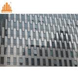 Revêtement composé architectural de panneau d'acier inoxydable
