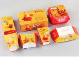 Plegado de papel desechables Takeout Caja/contenedor de alimentos máquina de formación