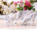 2017 de Nieuwste Gift van het Ontwerp Populair voor Huwelijk een Paar van de Zwaan van het Kristal