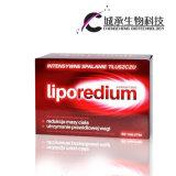 De Vette Brandwond van Liporedium, de Vermindering van het Gewicht, de Capsule van het Verlies van het Gewicht