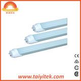 LED 관 T8 Flourescent 관의 유리제 플라스틱 덮개 9W 12W 16W 보충