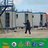 労働者の調節のためのフラットパック20FTの容器の家かプレハブの容器のホーム
