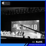 Schermo ultra alto del video del nero LED SMD HD di definizione di P2.38mm