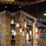 LED 전구 E27 110V 220V 불꽃 놀이 램프 필라멘트 전구
