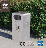 Outdoor poubelle Poubelle en acier inoxydable pour l'école