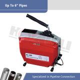 上の販売の6インチまで(D150)詰る電気ヘビの管の下水管のクリーニング機械