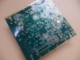 Llena conductora de circuito impreso PCB Vias de níquel electroless de oro de inmersión