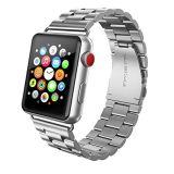 Venda de reloj del acero inoxidable para la correa de reloj de Apple 38 y 42m m