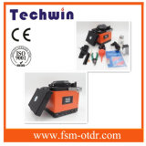Techwinの新しい自動繊維光学の融合のスプライサTcw-605 SoudeuseのファイバーOptique