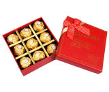 Подгонянная коробка формы конфеты высокого качества бумажная для рождества