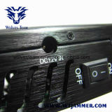 5 jammer portátil do jammer 2g 3G GPS do telefone móvel da antena e jammer de WiFi