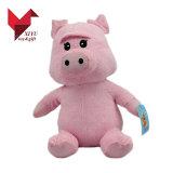 2018 새로운 디자인 사랑스러운 견면 벨벳 장난감 돼지 도매