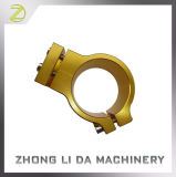 Aluminium die Delen machinaal bewerken die CNC van Delen de Klem van de Staaf van het Handvat draaien