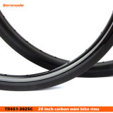7トラカーボン20インチ451の小型道のバイクは縁BMXカーボン自転車の縁を動かす