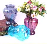 Jarrón de flores de vidrio al por mayor