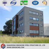 Edificio residenziale commerciale prefabbricato diplomato della struttura d'acciaio