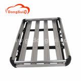 Galerie de Toit en aluminium Double-Deck Universal Cargo Panier