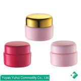 Venta caliente Mini jarra de plástico PP para la crema de ojos, lápiz de labios, la mano de la muestra