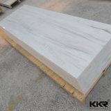 Hoja superficial sólida de acrílico modificada blanco del glaciar de la decoración 6m m (M171009)