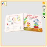 Alta stampa del libro di bambini della scheda di Qaulity (OEM-GL001)