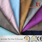 Warp вязания бархата мягкий спандекс полиэфирная ткань корейского бархат