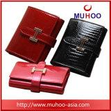 Муфты из натуральной кожи бумажник держатель карточки дамы кошелек