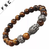 Preiswerte Buddha-geistige Raupe-natürliche Steinausdehnungs-Armbänder